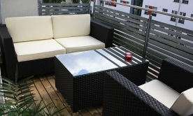 mit stylishen lounge m beln terrasse und garten versch nern. Black Bedroom Furniture Sets. Home Design Ideas